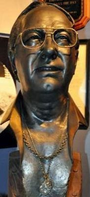 Bust of Mel Fisher Oztreasure Rex Woodmore
